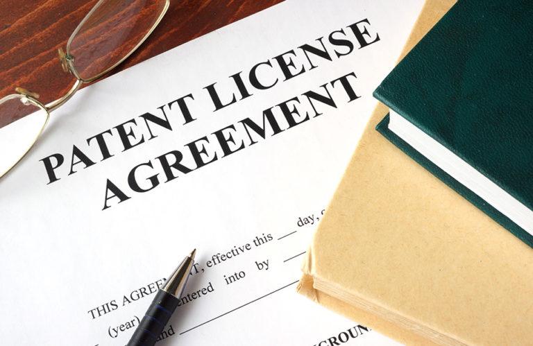 Patent paperwork